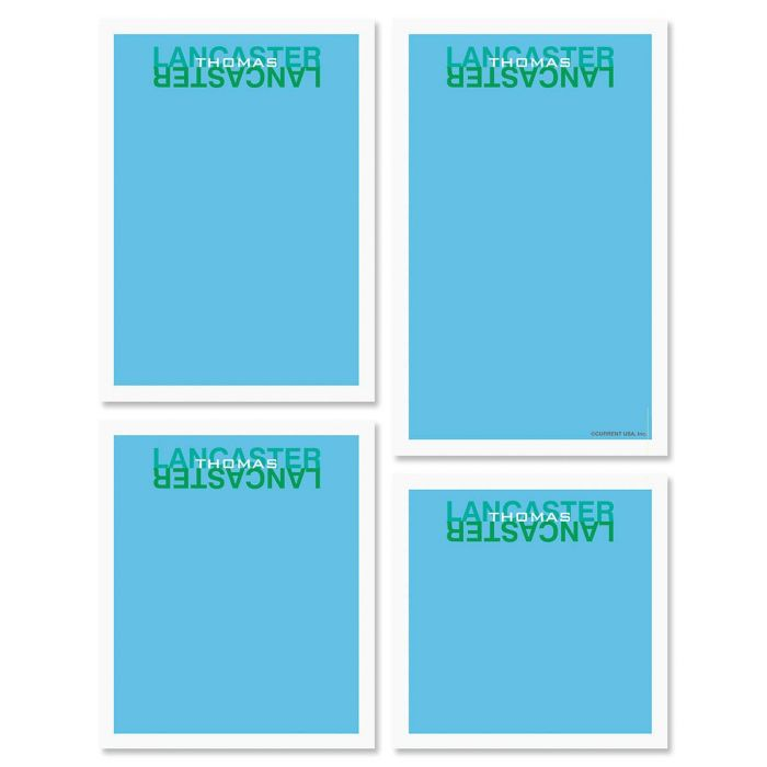 Mirror Image Personalized Notepads