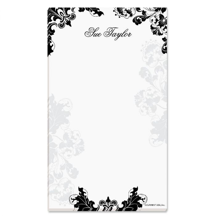 Rococo Personalized Notepads