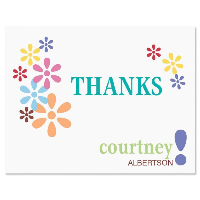 Hopscotch Personalized Thank You Cards