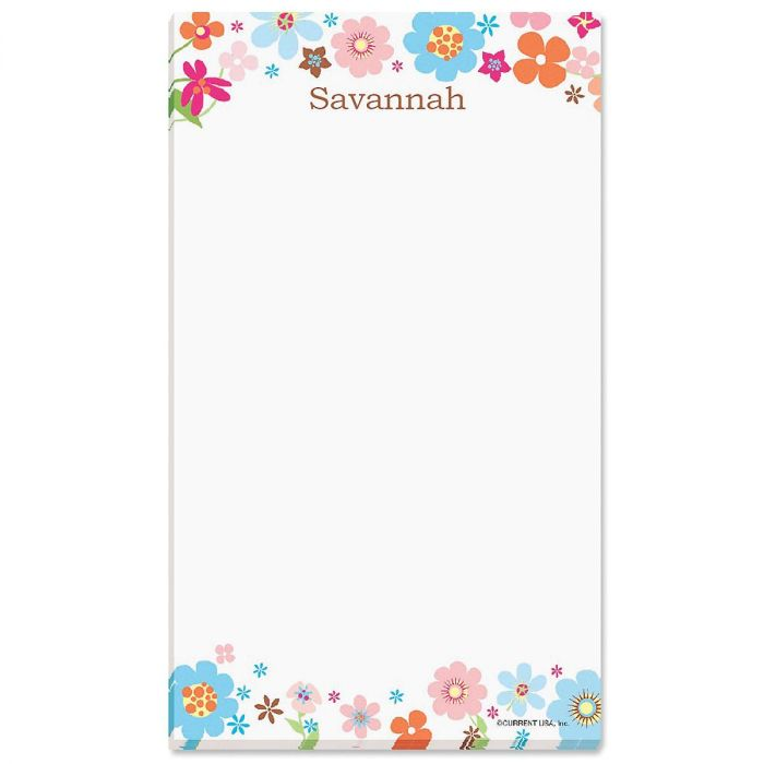 Sprightly Personalized Notepads
