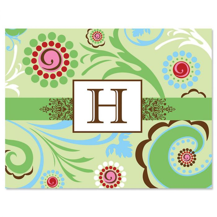 Fanciful Personalized Note Cards