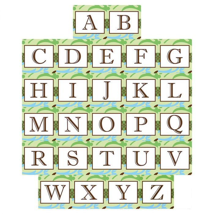 Fanciful Initial Personalized Notepad Set