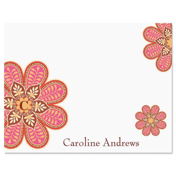 Flower Pop Correspondence Card
