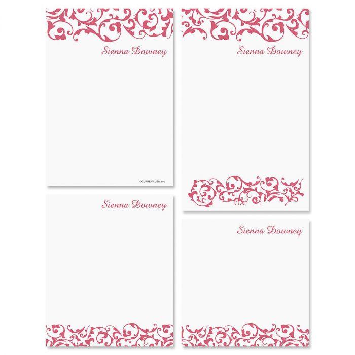 Twist Personalized Notepad Set