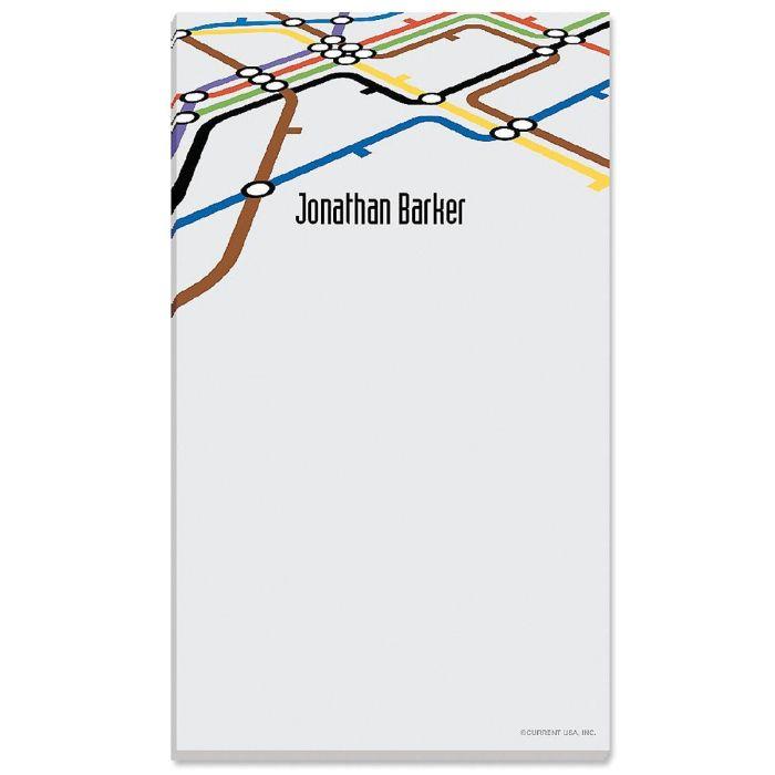 Underground Personalized Notepads