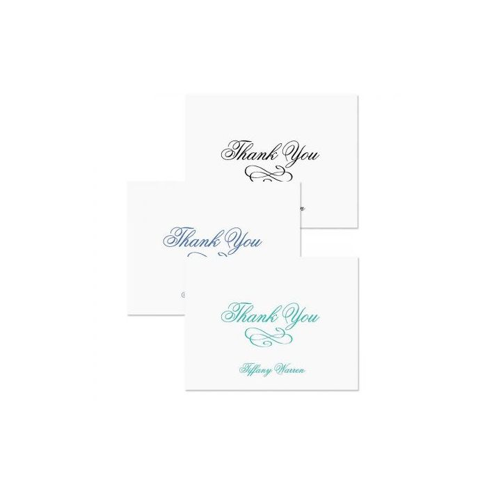 Tiffany Personalized Thank You Cards