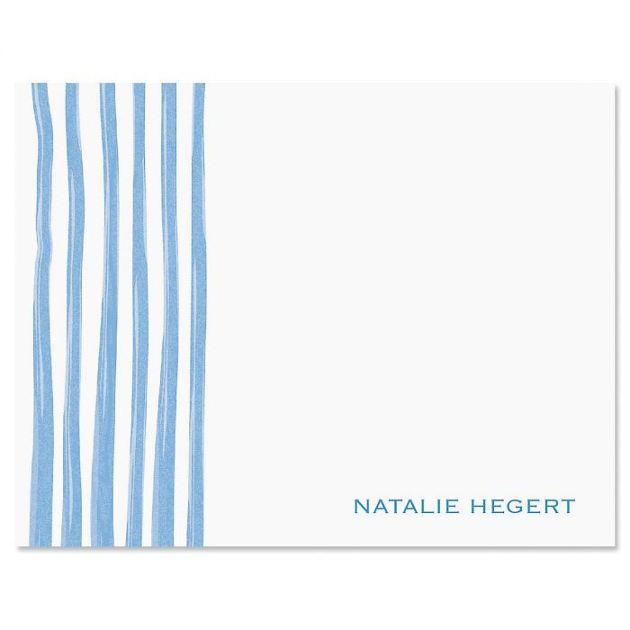 Sheer Delight Personalized Note Cards