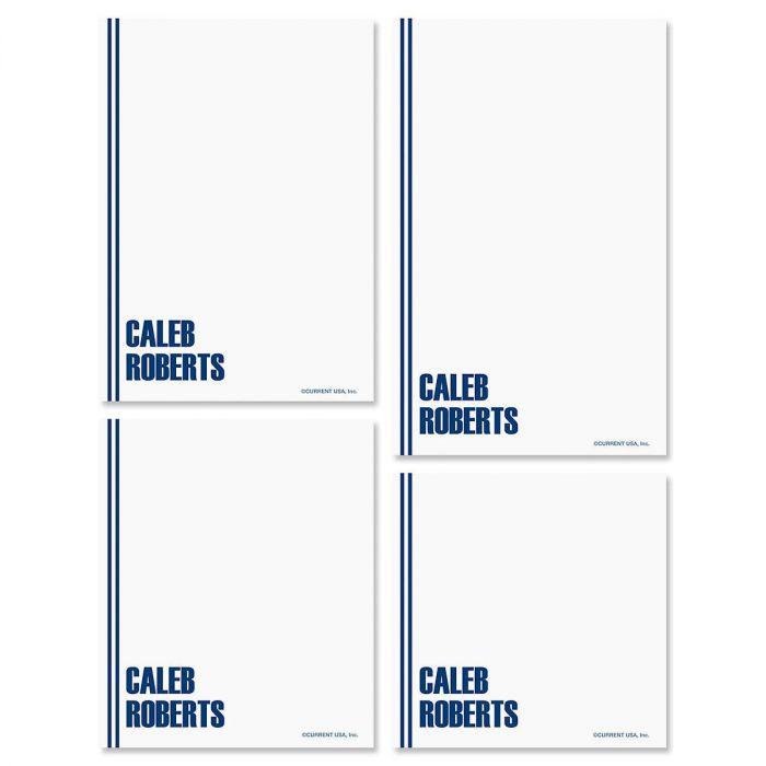 Stylin' Personalized Notepad Set