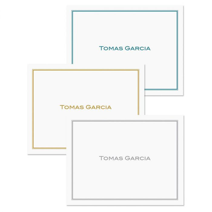 Refined Personalized Note Cards