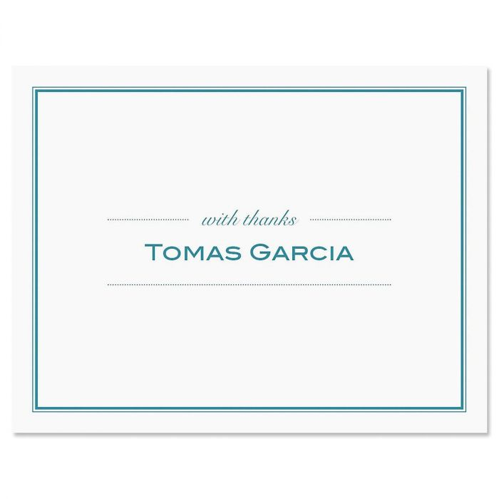 Refined Personalized Thank You Cards