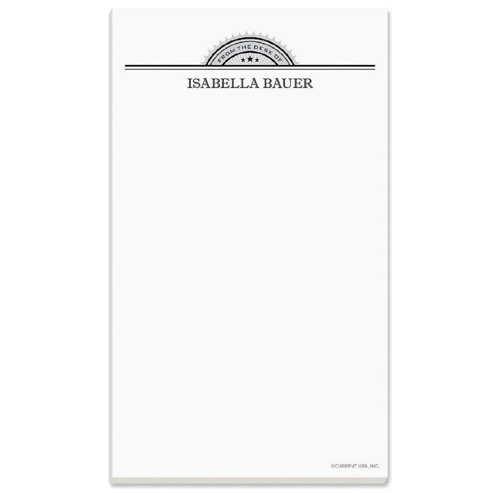 Approval Personalized Notepads