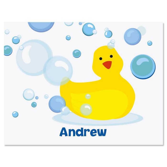 Just Ducky Personalized Note Cards