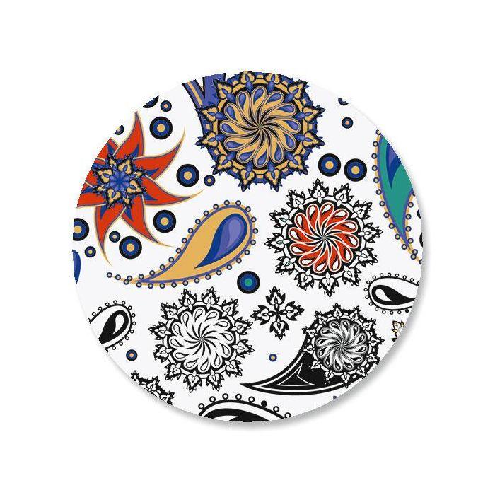 Color Paisley Envelope Sticker Seals