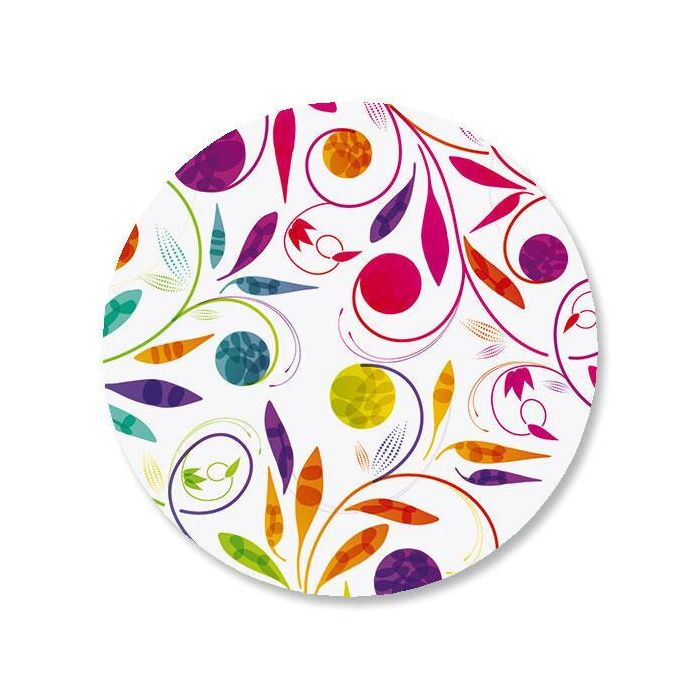 Color Swirl Envelope Sticker Seals