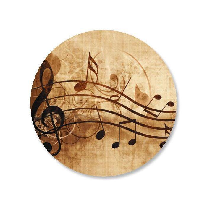 Sheet Music Envelope Sticker Seals