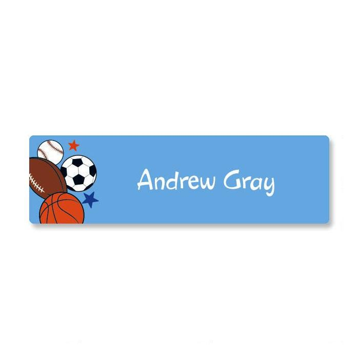 Sports Balls ID Labels