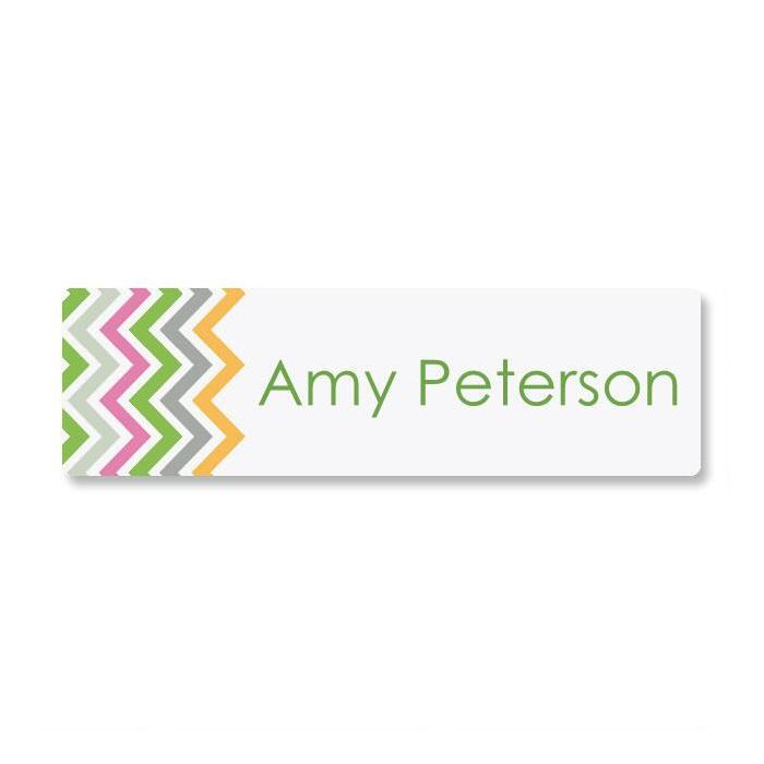 Chevron ID Labels