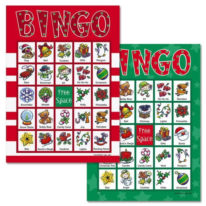 Santa Bingo Game