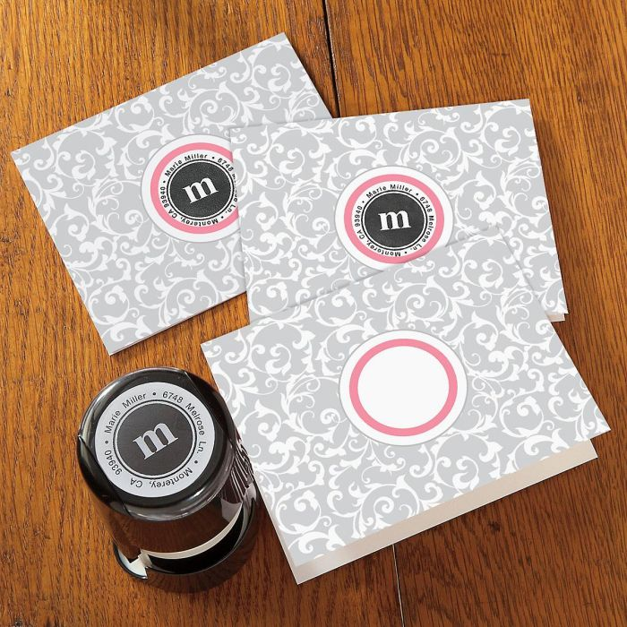 Heather Stampable Note Card