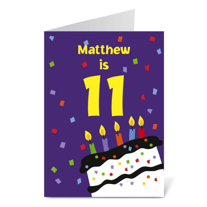 Big Number Birthday Create-A-Card