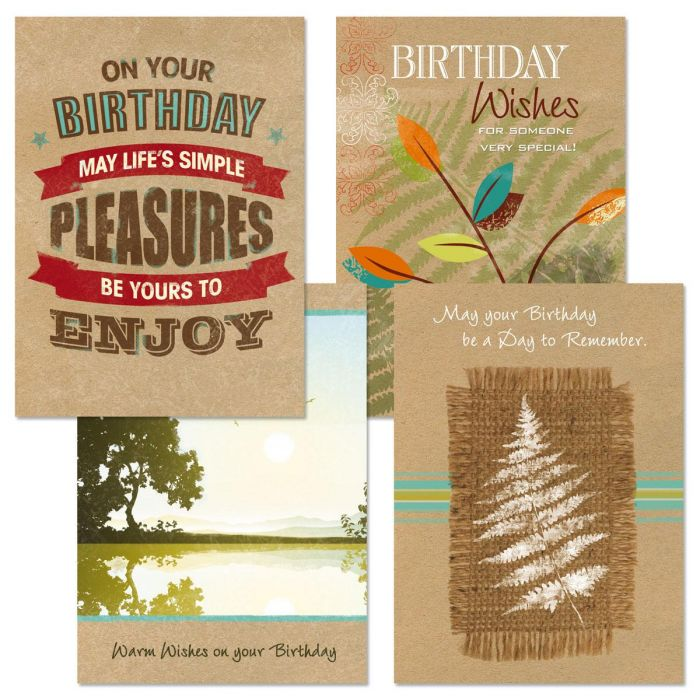 Tailored for Guys Birthday Cards and Seals