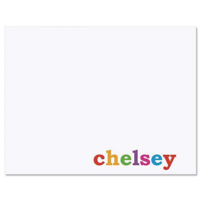 Paintbox Correspondence Cards