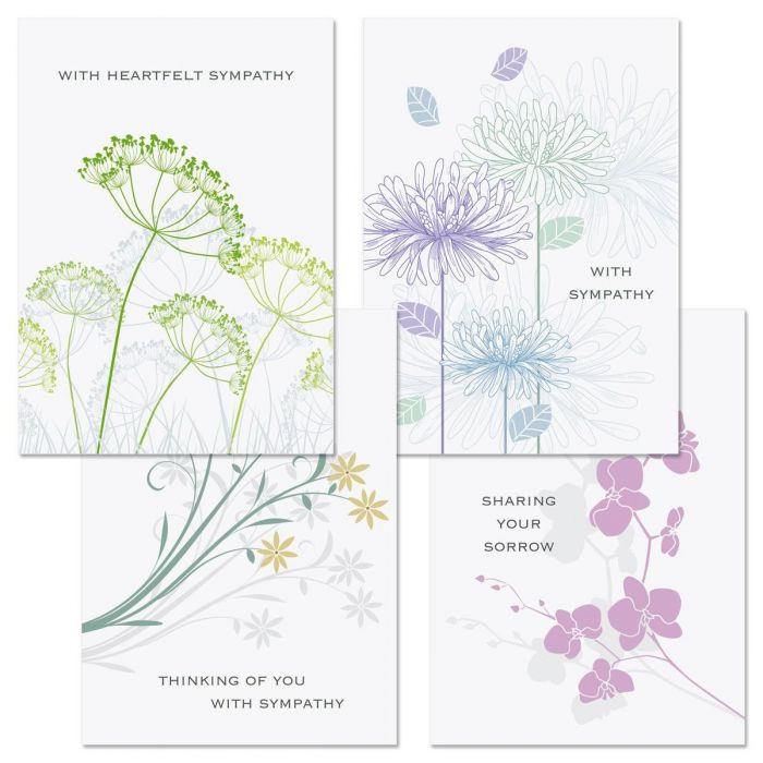Love Remembered Sympathy Cards