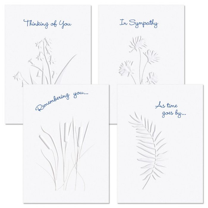 Moments Past Deluxe Sympathy Cards
