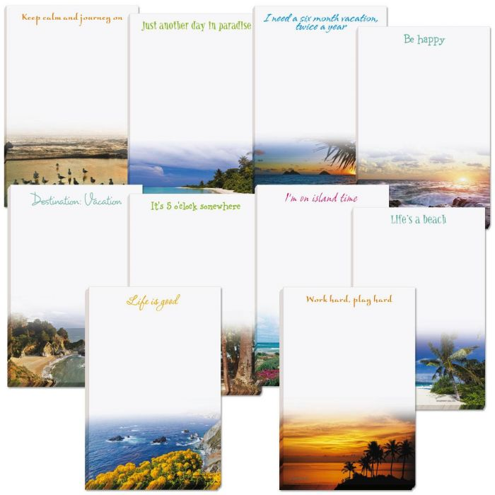 Escape From Reality Personalized Notepads Value Pack