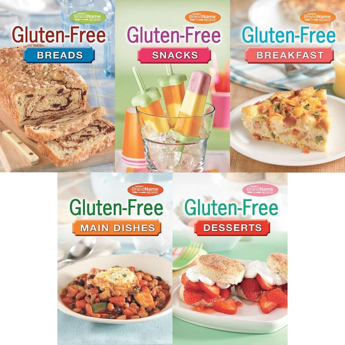 Gluten-Free Cookbooks