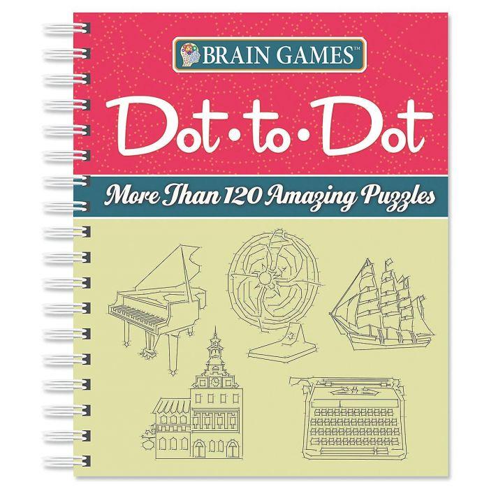 Brain Games™ Dot-to-Dot
