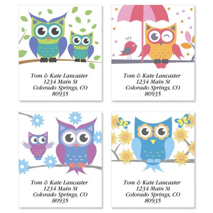 Owluminations Select Address Labels  (4 designs)
