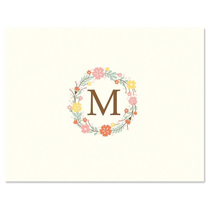Delicate Cluster Personalized Note Cards