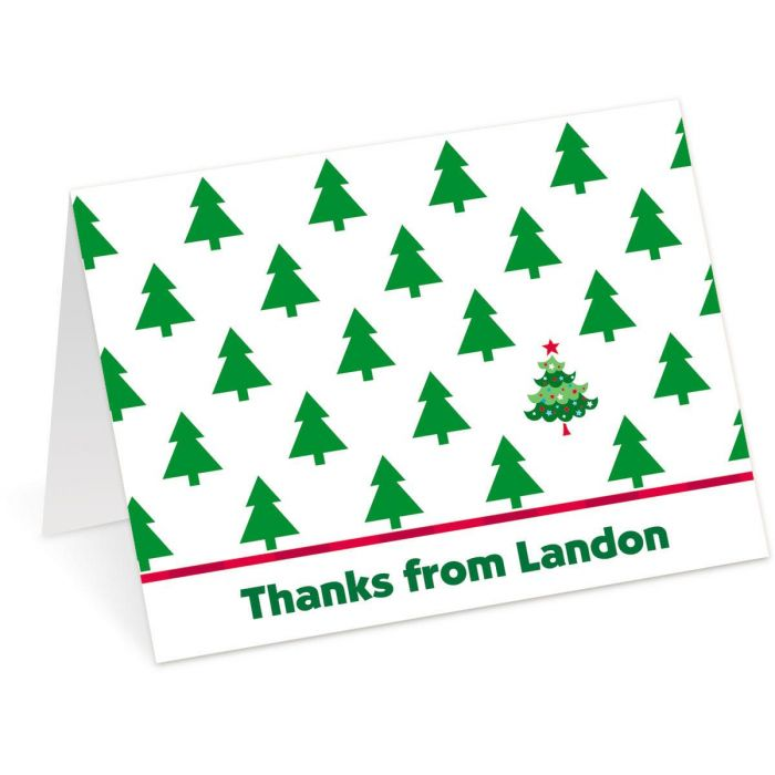 Special Tree Personalized Thank You Cards