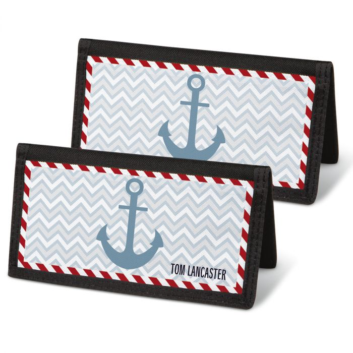 Nautical Chic Checkbook Covers