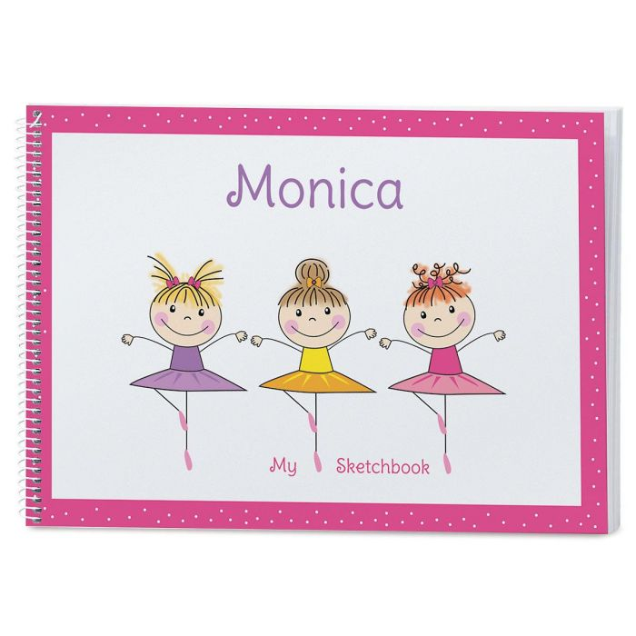 Tiny Dancer Personalized Sketchbook