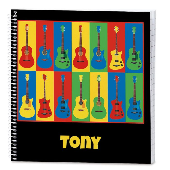 Guitar Personalized Journal