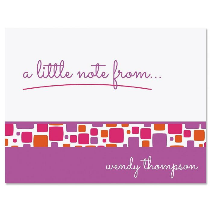 Noteworthy Personalized Note Cards