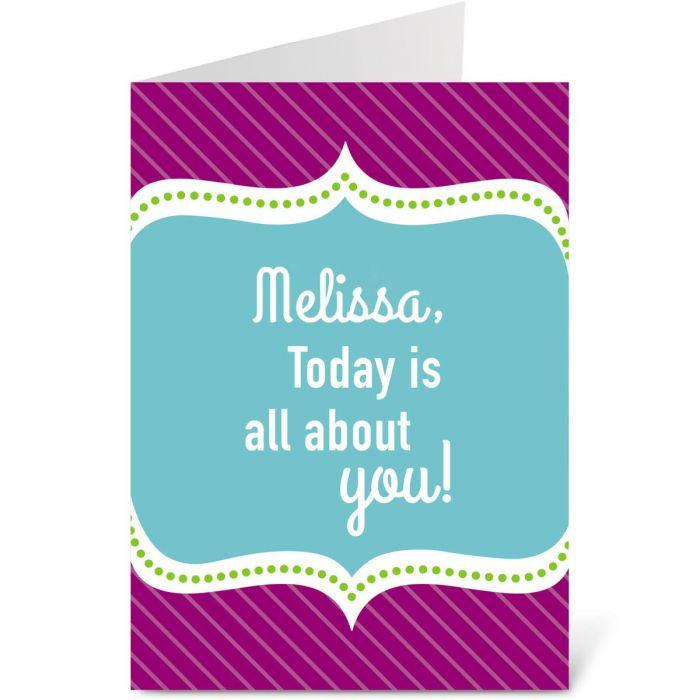 Happy Day Birthday Create-A-Card