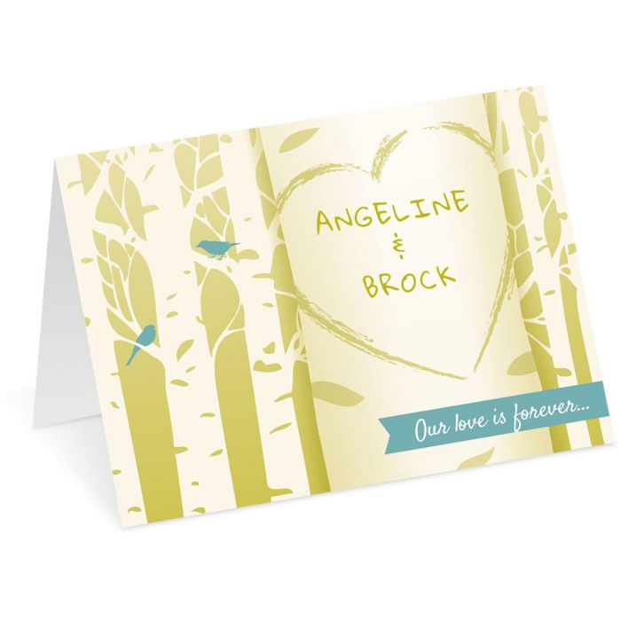 Heart on Tree Valentine Create-A-Card