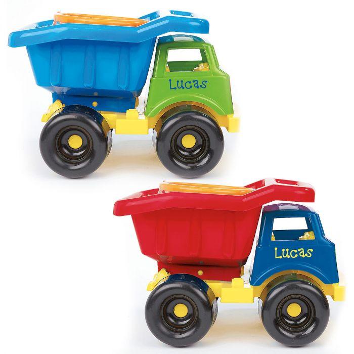 Kids Personalized Plastic Dump Truck