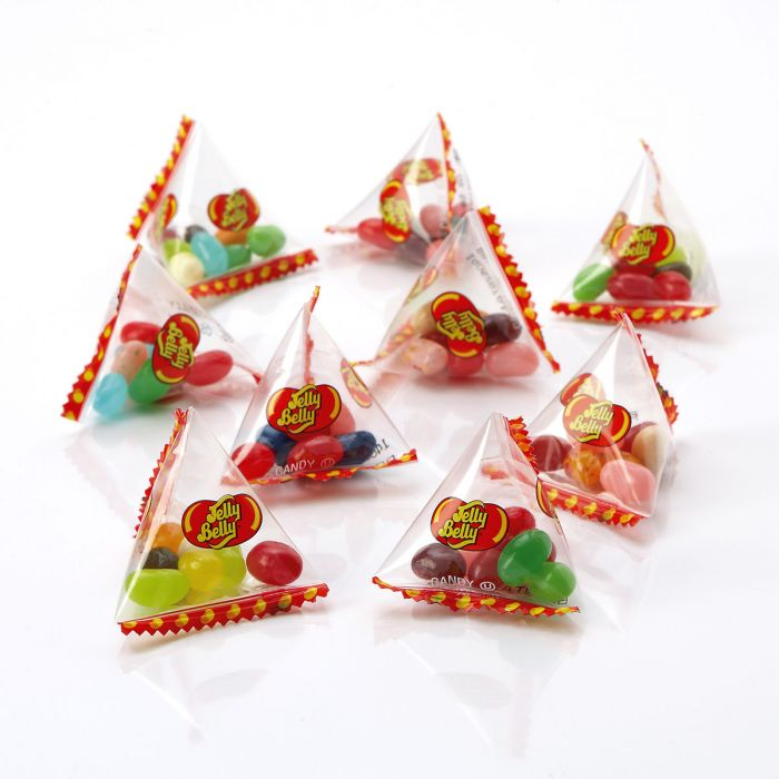 72 Individual Jelly Belly® Pyramid Bags