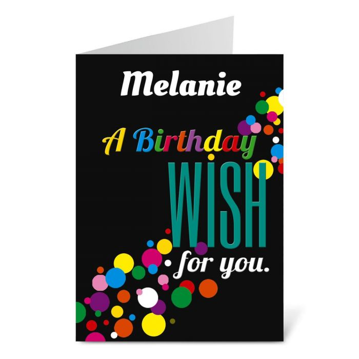 Confetti Birthday Create-A-Card