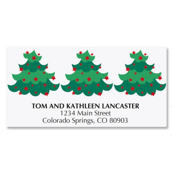 Sparkle Tree Matching Labels