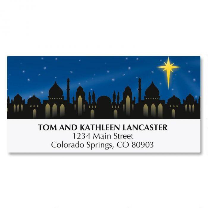 Star Light Matching Labels