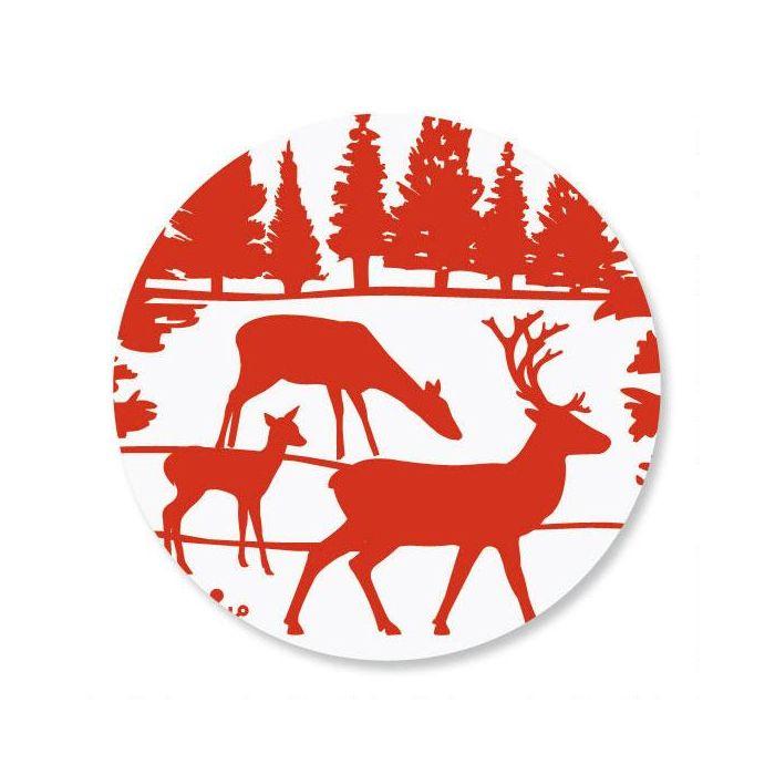 Winter's Night Envelope Sticker Seals