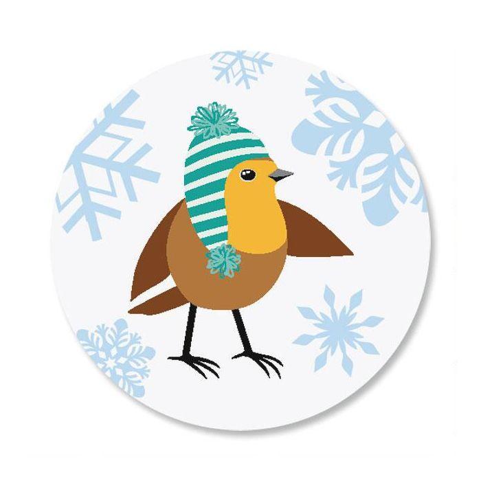 Snowflakes & Birds Seals