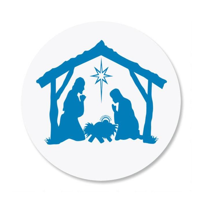 Bethlehem Envelope Sticker Seals