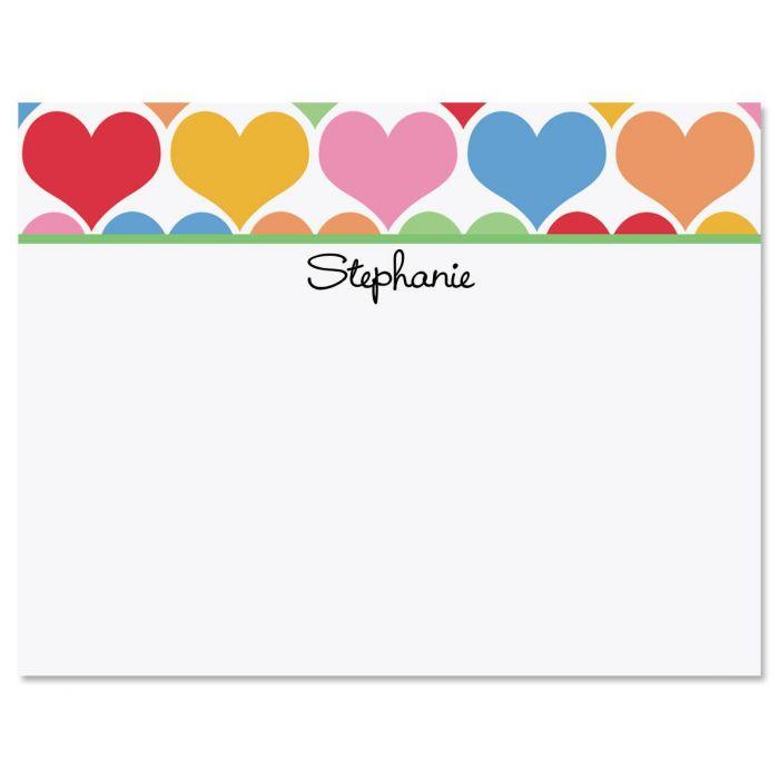 Happy Hearts Correspondence Cards