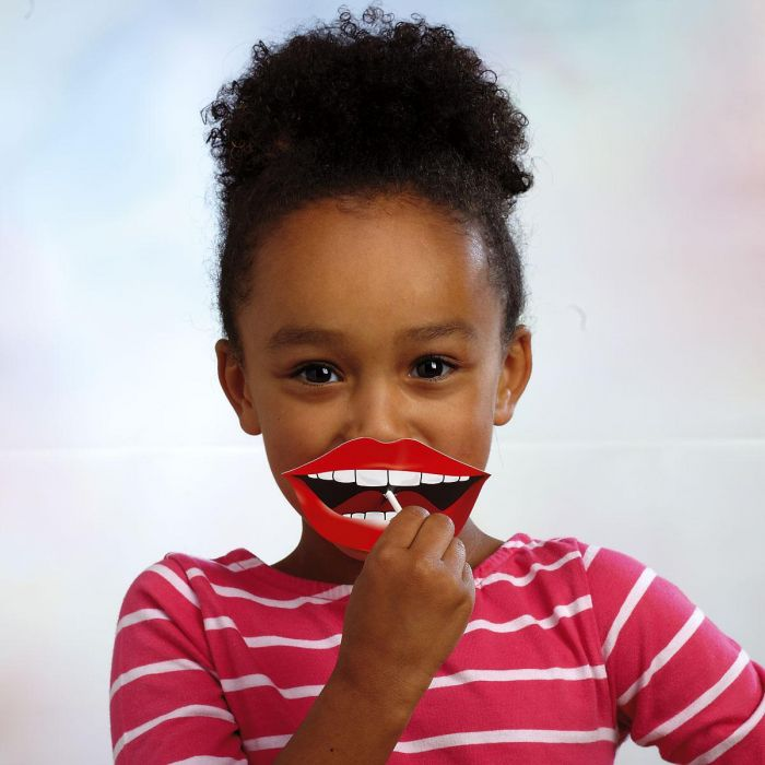 Crazy Lips Lollipop Kids' Valentines
